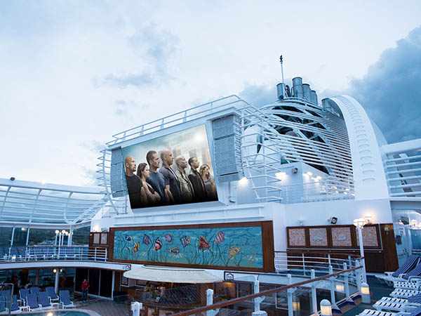 Cruise Ship Outdoor LED Display