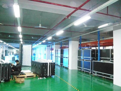 Factory of LED display