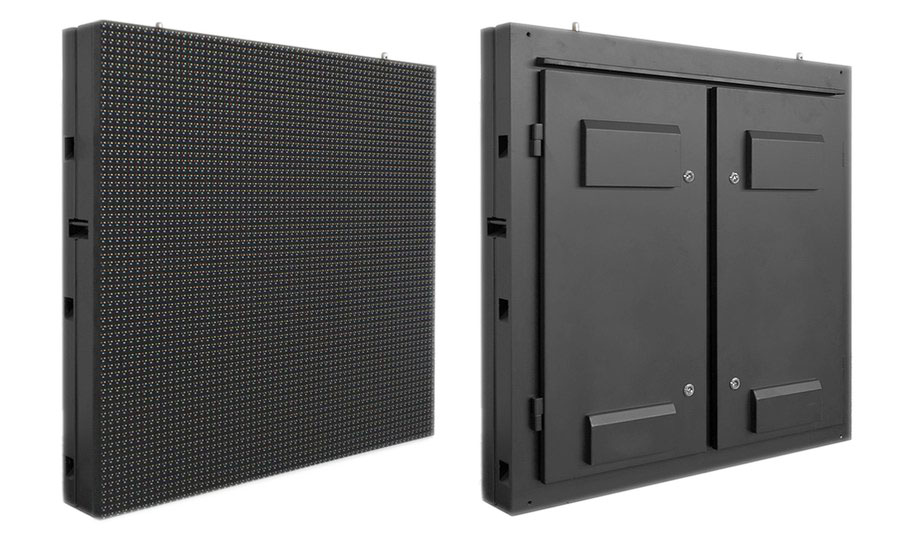 Outdoor fixed LED display panel