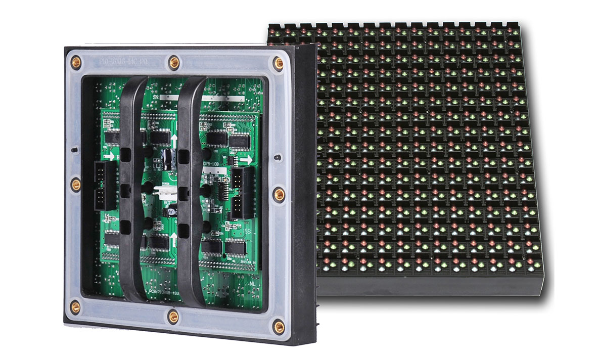 P10 outdoor dip led module aceopto brand for Exterior led screen