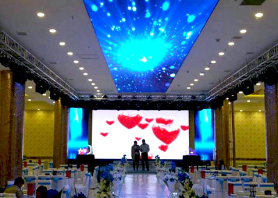 P6 indoor SMD ceilling LED screen