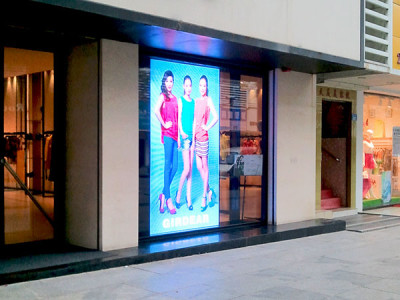 Showcase LED Sign