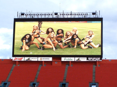 Stadium Big LED video wall