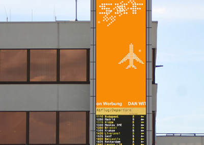 Airport Outdoor LED video wall