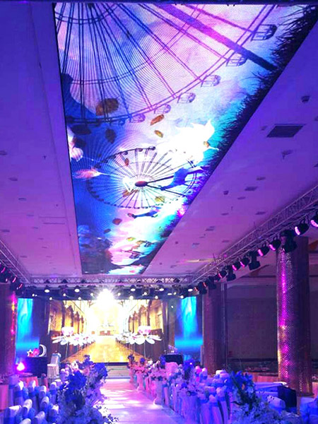 Indoor P6 Smd Ceiling Led Screen Aceopto