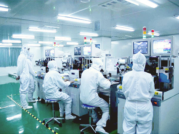 Inspection of LED display components