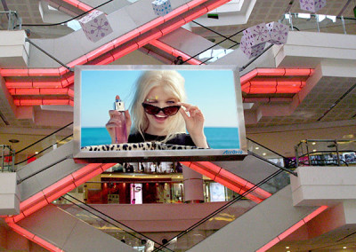 Lvbao Plazza LED display