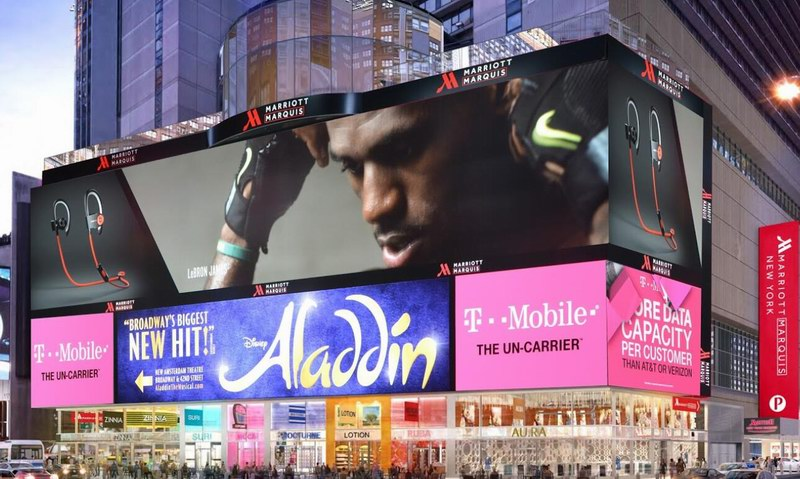 Time Square Outdoor LED Billboard